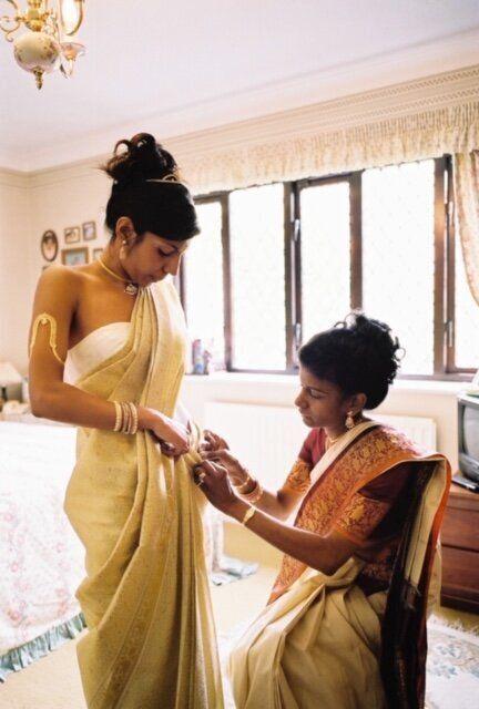 Maithili and her mother,Sulochana.