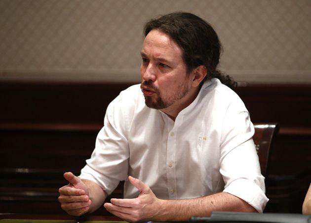 Pablo Iglesias, vicepresidente del
