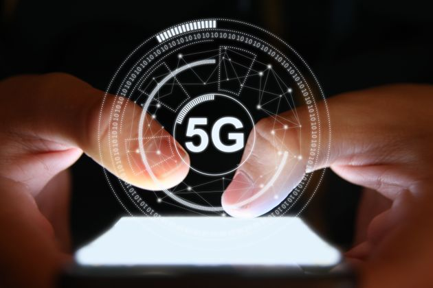 5G mobile phone network security connection internet