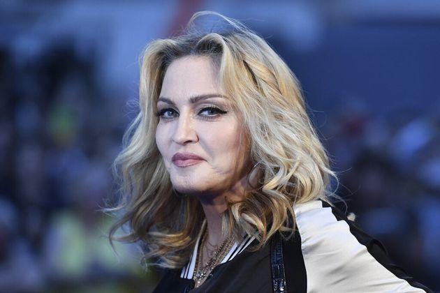 Madonna à Londres le 15 septembre