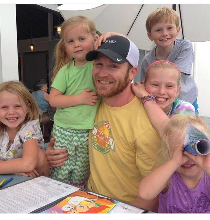 Matt was adored by his five children.
