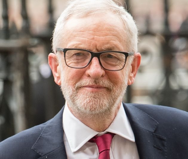 Jeremy Corbyn attends the Commonwealth Day Service 2020 on March 9 in