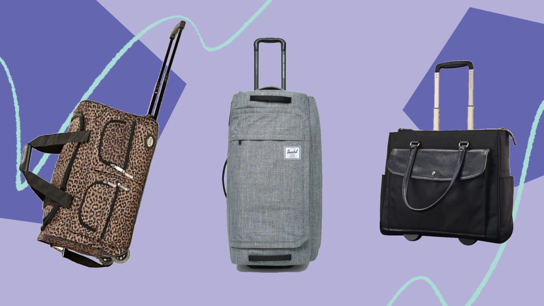 Сними вес в следующей поездке с этими симпатичными сумками Weekender на колесах