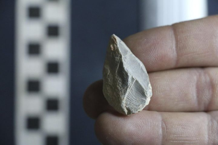A stone tool found in a cave in Zacatecas, central Mexico suggests people were living in North America as early as 26,500 yea