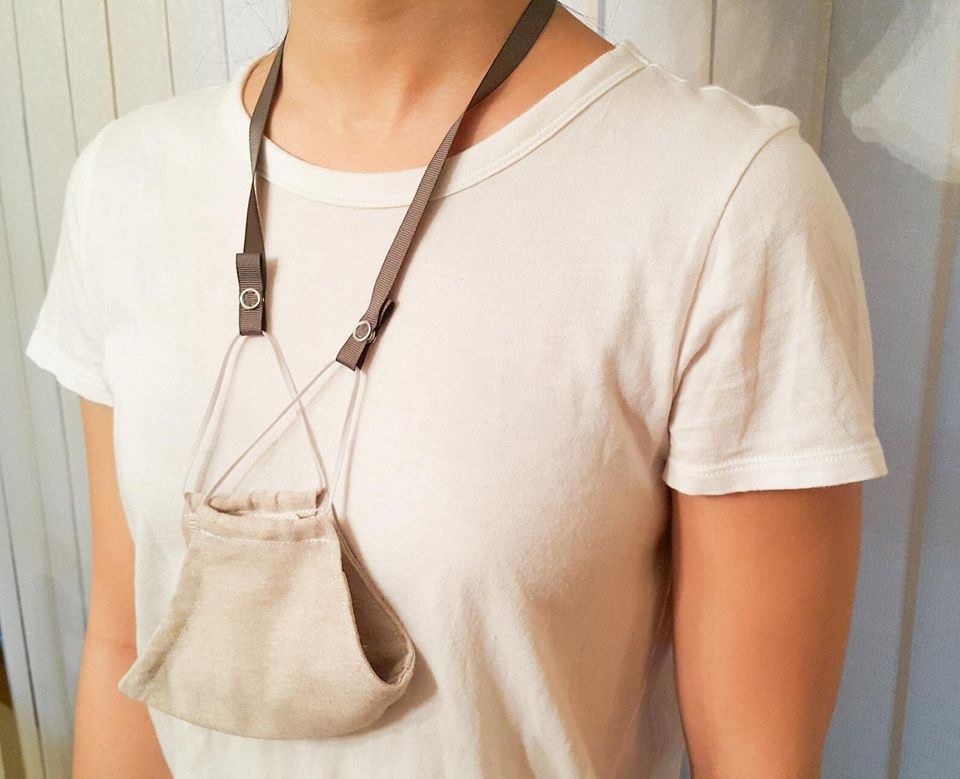 Face Mask Holders For Around The Neck So You Don't Lose It 12