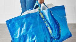 Le sac IKEA change de