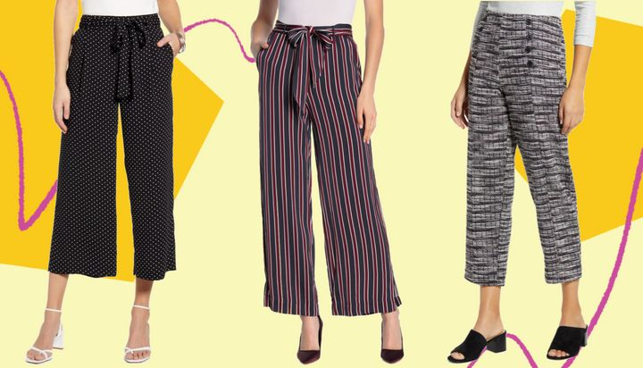 Your work wardrobe doesn't just have to be shades of beige. We found stretchy pants that are polished and easy to pull on.