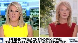 Fox News Host Grills Kellyanne Conway For Urging Mask Wearing: 'Why