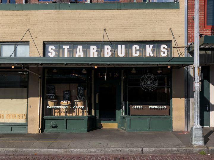 시애틀에 위치한 스타벅스 본점