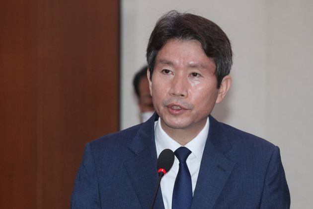 이인영 통일부장관 후보자. 2020. 7.