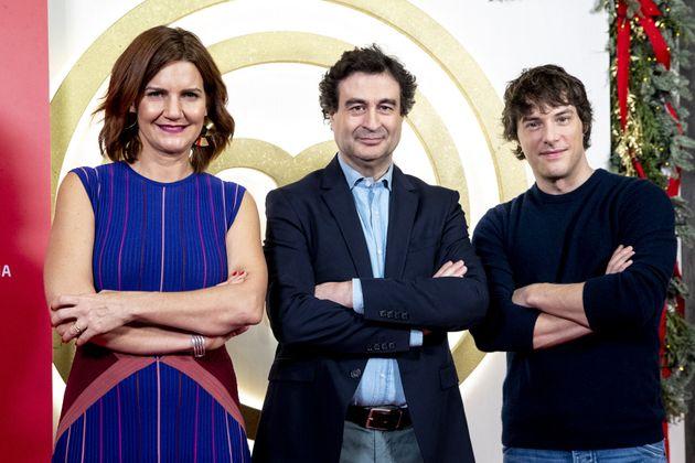 Samantha Vallejo-Nágera junto a Pepe Rodríguez y Jordi