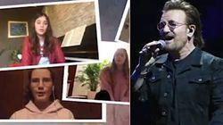 Il coro friulano canta una canzone degli U2 e il gruppo li riposta su Facebook