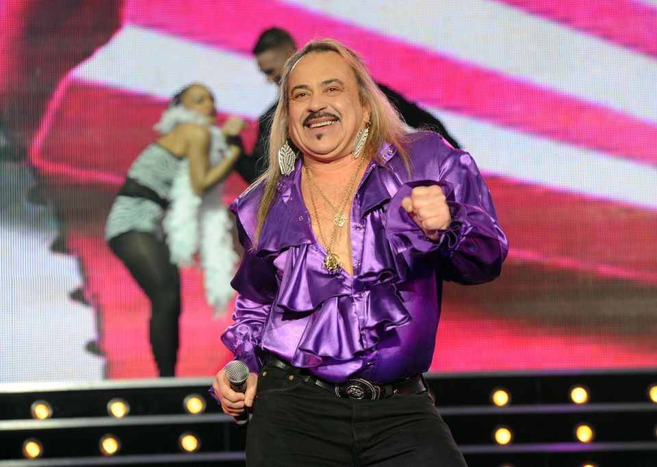 Wagner performing on The X Factor tour back in