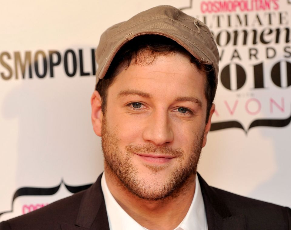 Matt Cardle, who beat One Direction to win The X Factor in 2010, pictured around the time of the