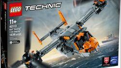 Lego annule la sortie de ce modèle d'avion militaire après des