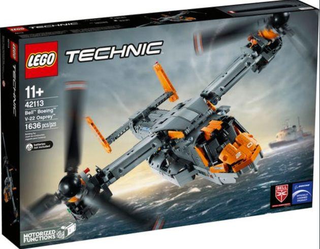 Le jouet représentait clairement une version de l'appareil V-22 Osprey de