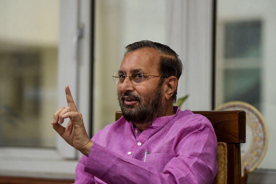 Prakash Javadekar, Indian Minister of Environment, Forests and Climate Change, Minister of Information...