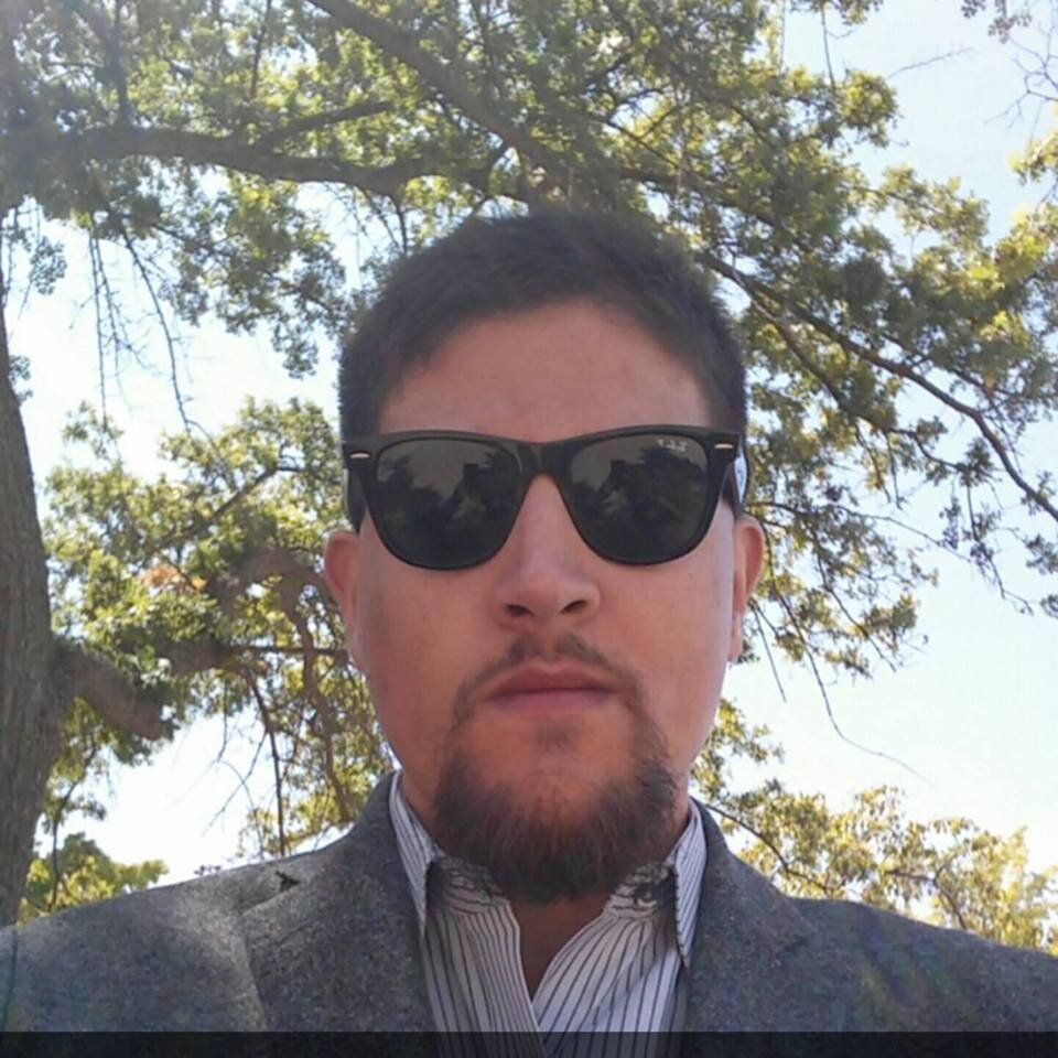 A selfie of Andrew Casarez from a Facebook page found by the Anonymous Comrades Collective. HuffPost has independently confir