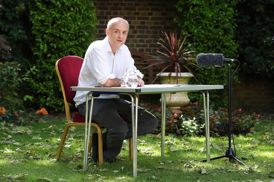 Dominic Cummings, senior aide to prime minister Boris