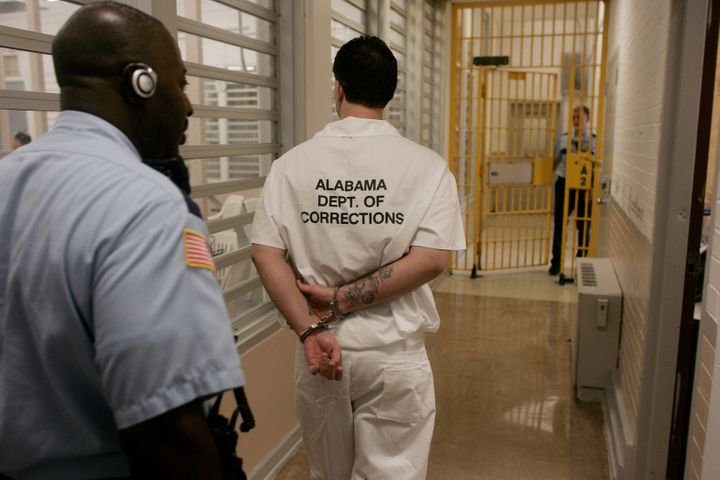 The U.S. Department of Justice said conditions in Alabama's prisons were unconstitutional.