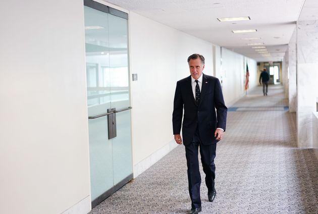 Sen. Mitt Romney thinks President Donald Trump is favored to win