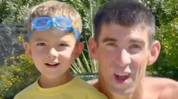 Michael Phelps Stars In 'Paw Patrol' PSA With Summer's Catchiest