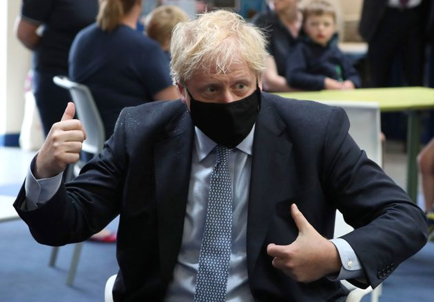 Will Face Coverings Mask Boris Johnson's Problems With Test And Trace?
