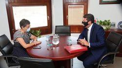 González Laya se reúne en Gibraltar con su ministro principal y Casado pide su