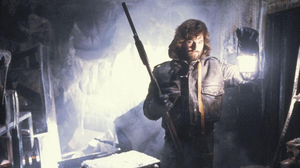 Kurt Russel como o herói acidentalR.J.