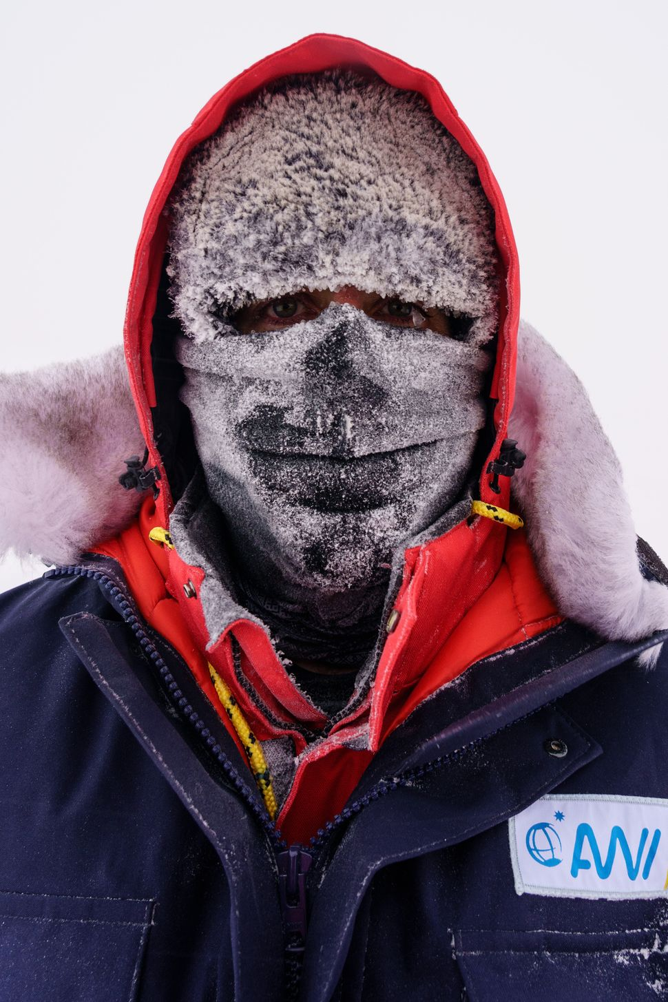 Storms and brutally cold temperatures make science difficult at the top of the world.