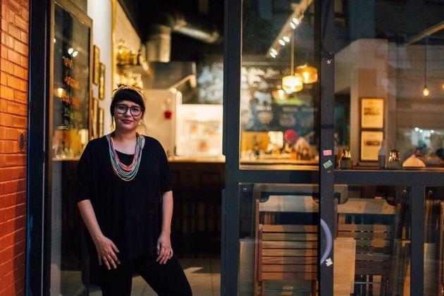 Dani Borges, chef do restaurante vietnamita Bia Hoi, em foto de março de