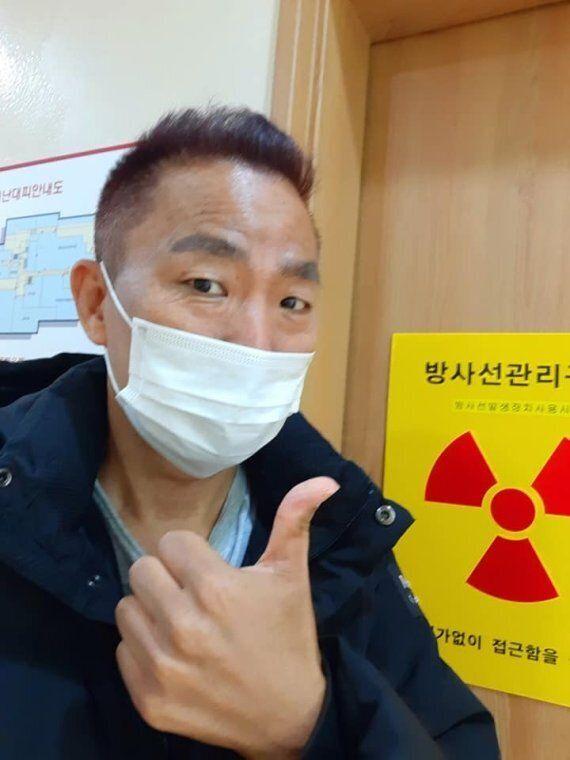 동물용 구충제 '펜벤다졸'을 복용한 김철민이