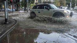 Bomba d'acqua a Milano, esonda il