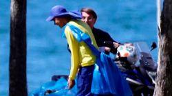 Jair Bolsonaro, positivo en covid-19, dando un paseo en moto por la ciudad y sin