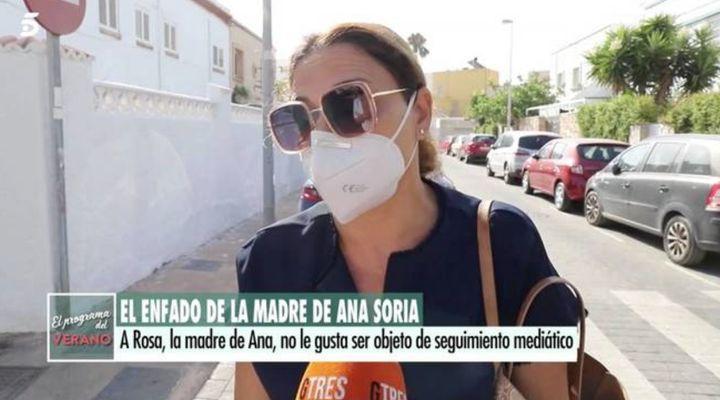 La madre de Ana Soria en 'El programa del verano'.