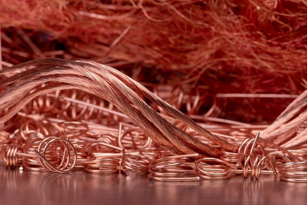Copper wire recycling industry