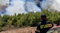 Πυρκαγιά και στα Μέθανα