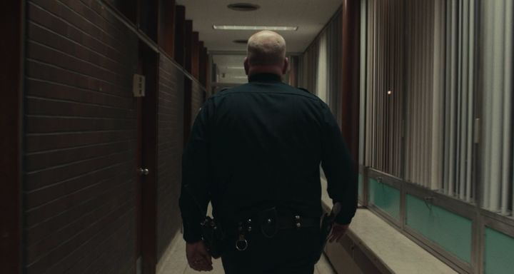 "The opening scene in ""Spotlight"" on Netflix."