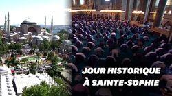 À Istanbul, la mosquée Sainte-Sophie accueille sa première prière en 86