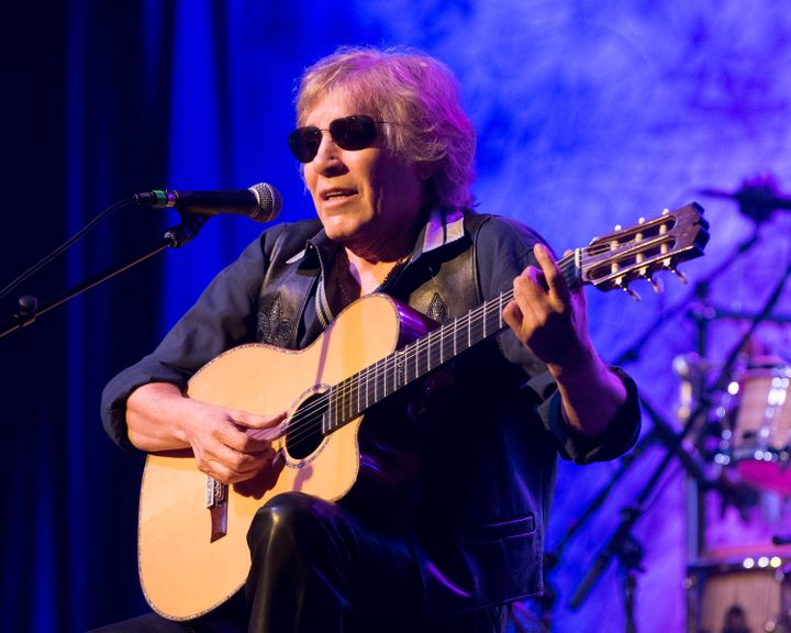 "José Feliciano released a new album this year called ""Behind This Guitar."""