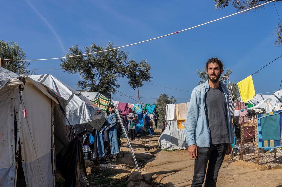 O Μάρκο Σαντρόνε, συντονιστή της ομάδας των Γιατρών Χωρίς Σύνορα στη