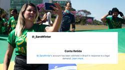 Redes sociais suspendem perfis de bolsonaristas alvos do inquérito das fake