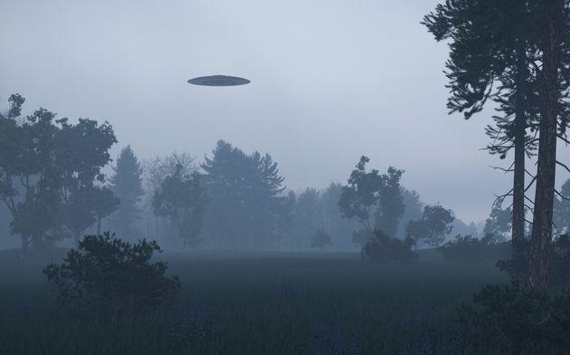 Ufo over