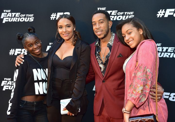 Ludacris has three daughters, and he and wife Eudoxie Bridges also care for her little sister.
