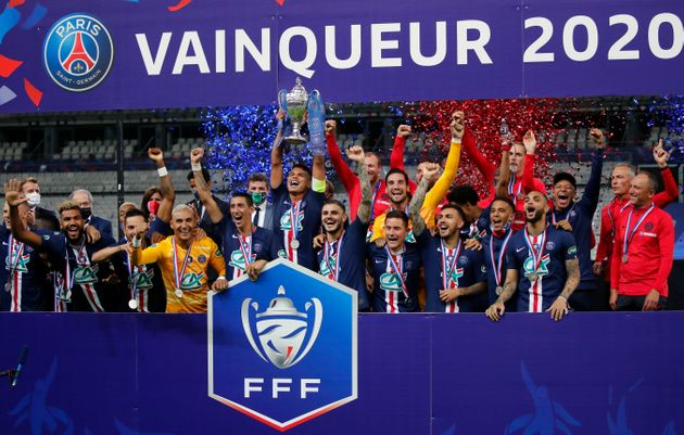 Le PSG remporte la finale de la Coupe de France en battant