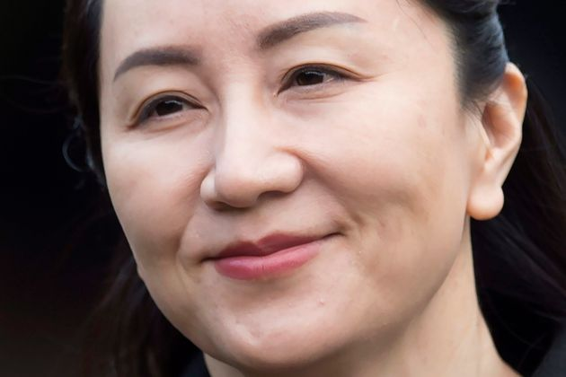 In this Jan. 21, 2020 file photo, Huawei chief financial officer Meng Wanzhou leaves her home to attend...