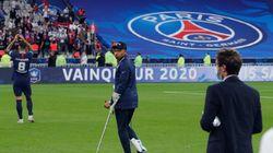 Avec son entorse, Mbappé n'est pas sûr de pouvoir jouer la Ligue des