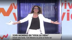 El comentario que todos están haciendo por lo que ha hecho Toñi Moreno en su regreso a 'Viva La