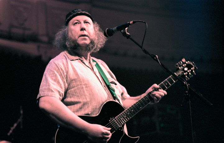 Peter Green performed at the Paradiso in Amsterdam, Netherlands in 1996.