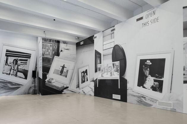 Giovanna Silva, Catabasi, 2020. Audio: Lory D, The Sounds of Rome, 1991. Veduta della mostra Museo per...